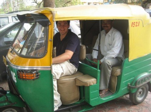 Auito Rickshaw in India